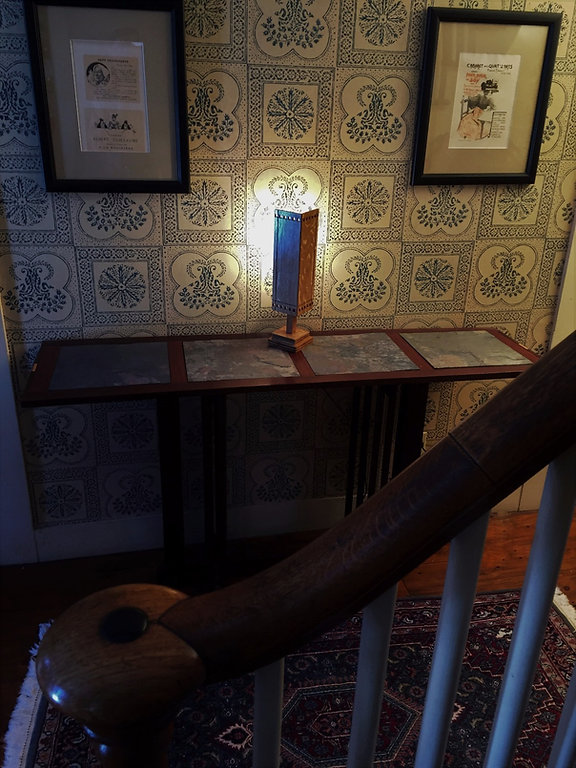 mission accent lamp craftsman