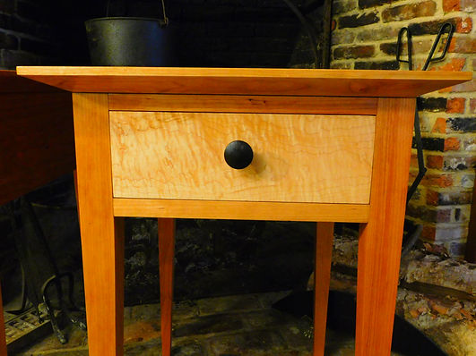 cherry shaker nightstand