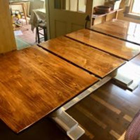 maple extension dinning table