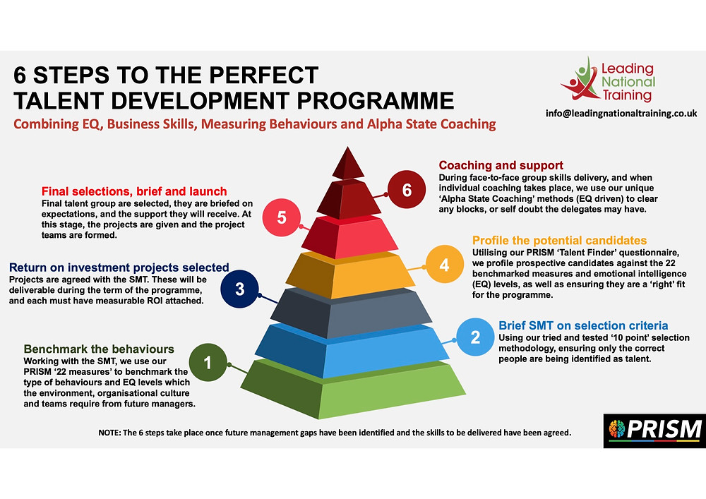 6 steps to the perfect Talent Development Programme