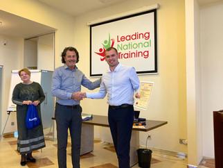 Completing a Talent Development Programme in Kiev...