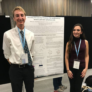 Hugh and Emily presenting at ICCE 2018