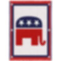 1757-A_Republican_Logo_Art_Tapestry_Thro