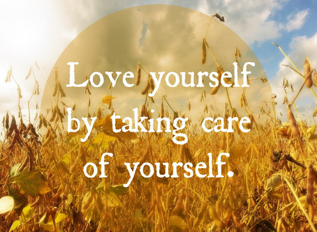 Mission - Take care of yourself first