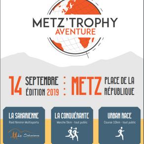 #lasaharienne : RDV le 14 septembre au Metz Trophy Aventure !
