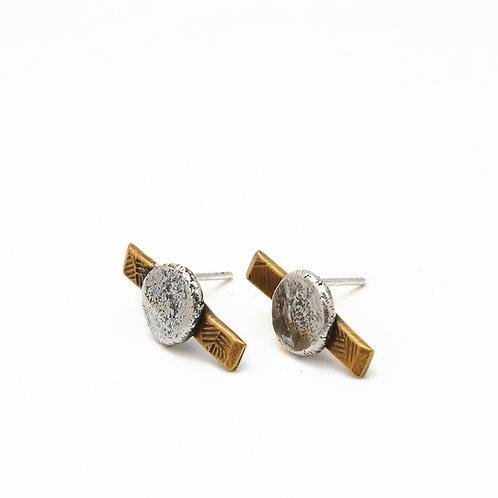 Satellite Post Earrings
