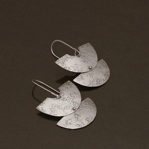 Santhi Earrings in Silver