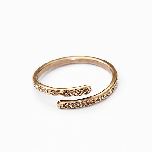 Slender Wrap Ring