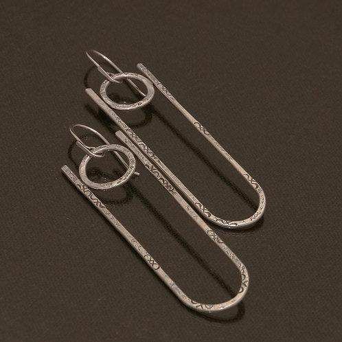Petra Earrings in Silver