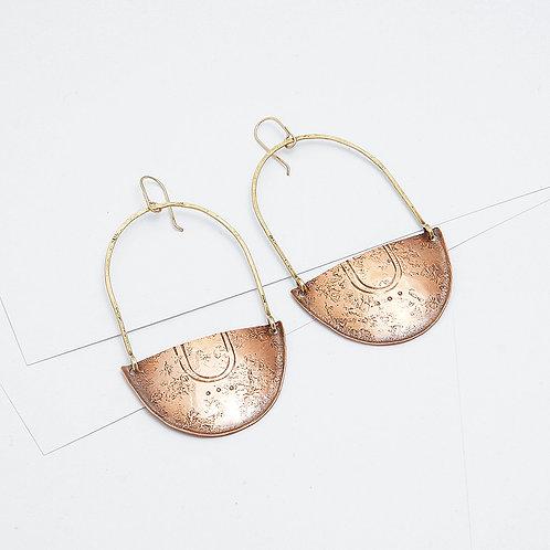 Shield Bearer Earrings