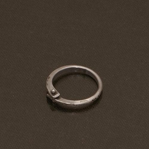 Birsa Ring in Silver