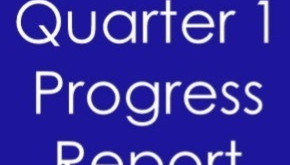 Quarter 1 Progress Report