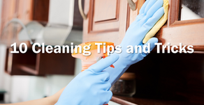 10 Cleaning Tips and Tricks