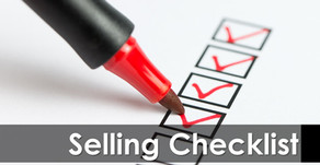 Selling Checklist