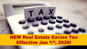 NEW Real Estate Excise Tax in 2020
