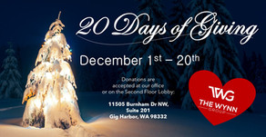 2nd Annual 20 Days of Giving