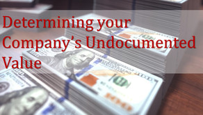Determining Your Company's Undocumented Value