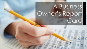 A Business Owner's Report Card