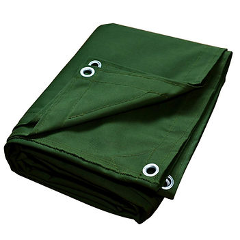 MADE FROM HIGH QUALITY FIBERS IT IS LONG LASTING AND CAN BE USED FOR VARIETY OF PURPOSES AND MOSTLY FOR OUTDOOR CAMPING'S AND ALSO COVERAGE FOR CARGO AND EQUIPMENT. FROM US YOU WILL GET CANVAS TARPAULINS OF DIFFERENT SIZES, AND COLOURS THAT WILL PERFECTLY SUIT YOUR REQUIREMEN