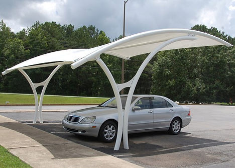Cantilever parking shadegives best protection from UV andsunthus fits best forparking solutions. It occupies very less area and providesshadesonly in theparking area.We offer amaximum VarietyofCar parking Shadesfor our customers. Car parks shades with minimal physical obstruction, meaning that they are working for along time. These parking Tents will not allow the Heat to reach your car are best for car servicing operations.Our parking shadesare designed as per the requirement of our customers.