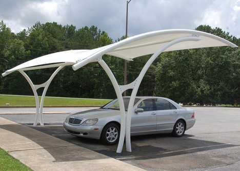 Cantilever parking shade gives best protection from UV and sun thus fits best for parking solutions. It occupies very less area and provides shades only in the parking area.We offer a maximum Variety of Car parking Shades for our customers. Car parks shades with minimal physical obstruction, meaning that they are working for a long time. These parking Tents will not allow the Heat to reach your car are best for car servicing operations. Our parking shades are designed as per the requirement of our customers.