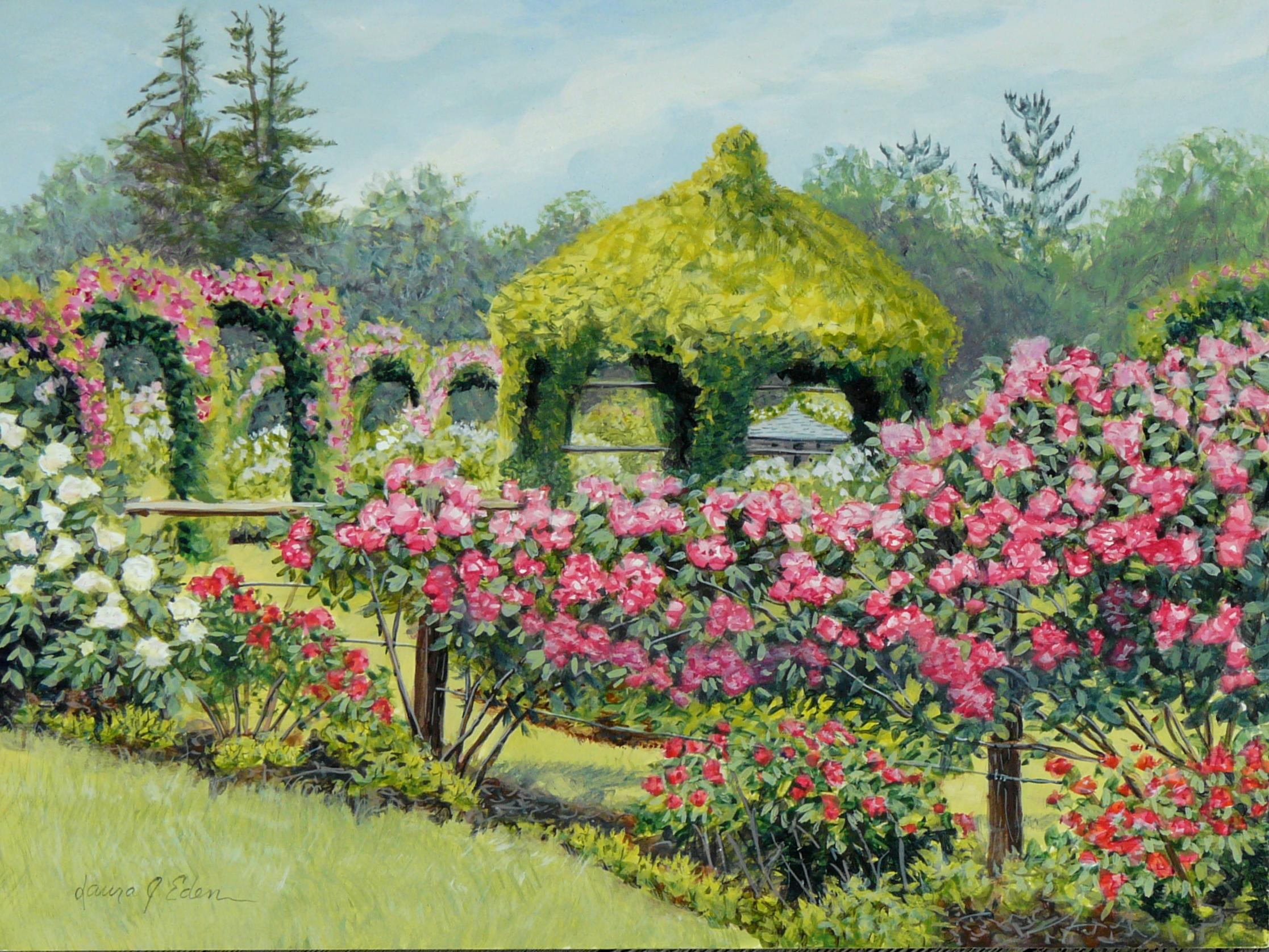 Rose Garden,June