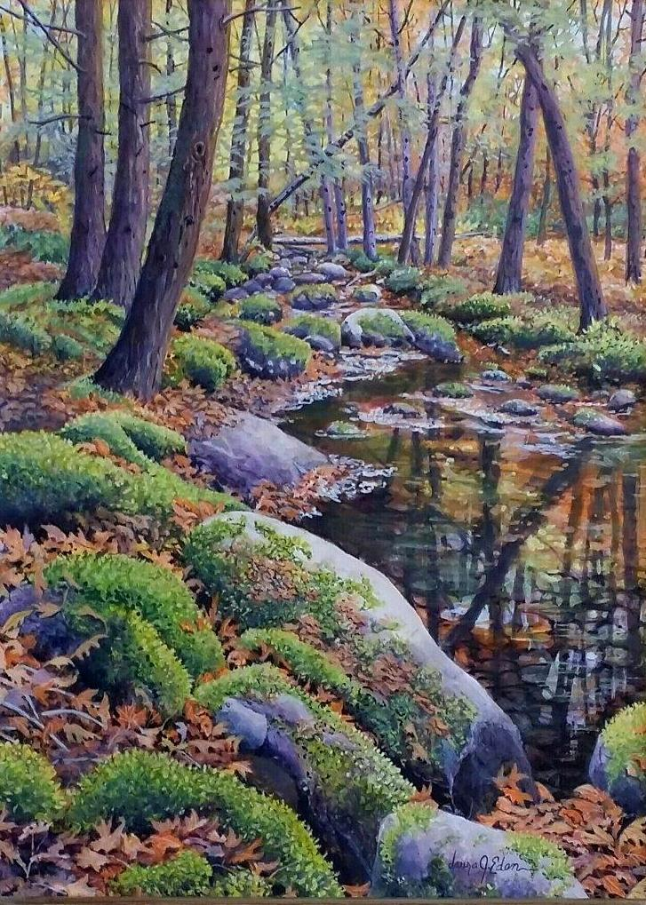 Moose Horn Brook 12 x 16
