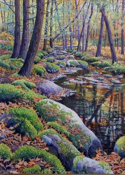 Moose Horn Brook 12 x 16