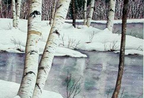 Waters Edge Winter # 15
