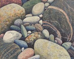 Nestled Pebbles