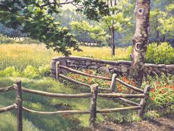 The Wall Behind Hunt Hill Farm