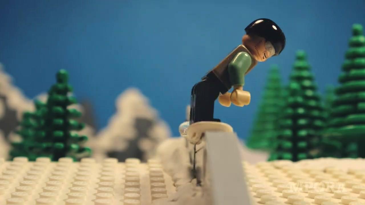 Lego Snowboarding - Van Life