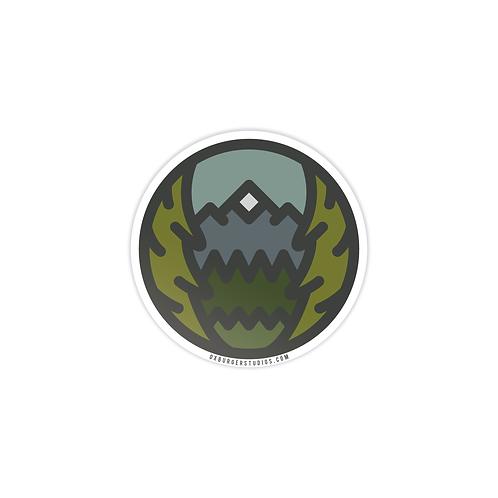 Evergreen Sticker