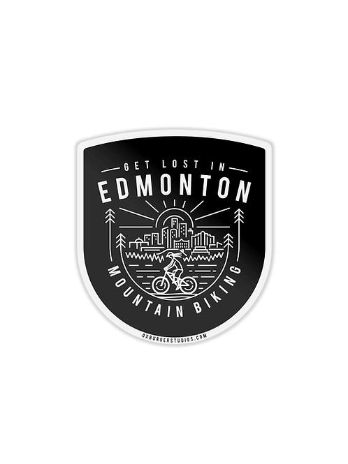 Get Lost In Edmonton MTB Sticker
