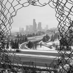 Snowy Seattle - 4x5