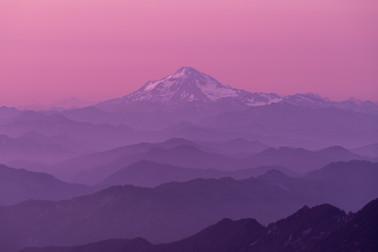 Glacier Sunset - 2x3