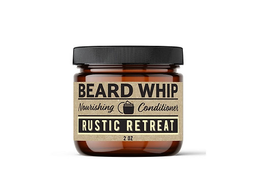 Rustic Retreat Beard Whip(Sandalwood Bourbon)