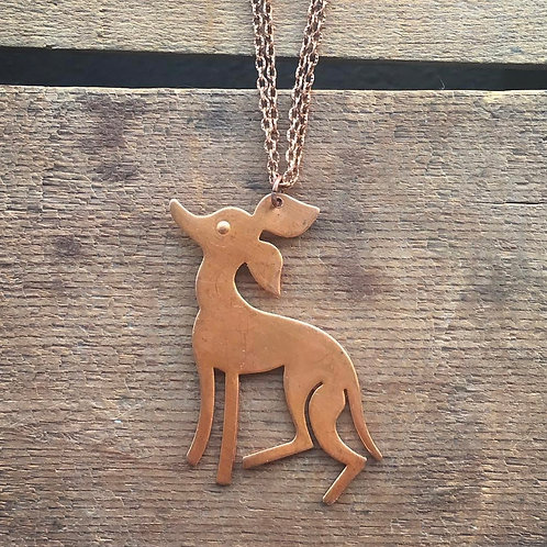 Reindeer Necklace (or could be Santa's Little Helper)