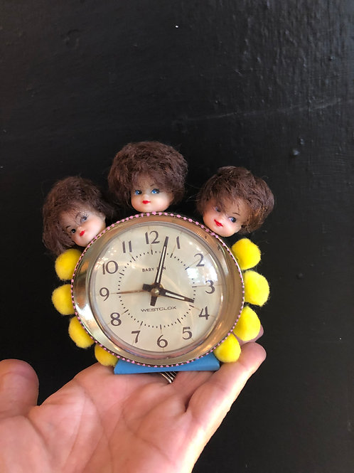 """""""Time to Go Go"""" Assemblage Art"""
