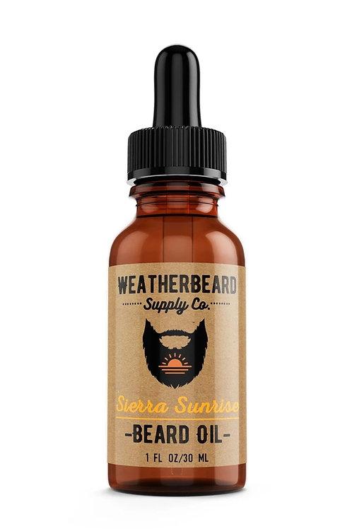 Sierra Sunrise Beard Oil ( Citrus, Vanilla & Spice)