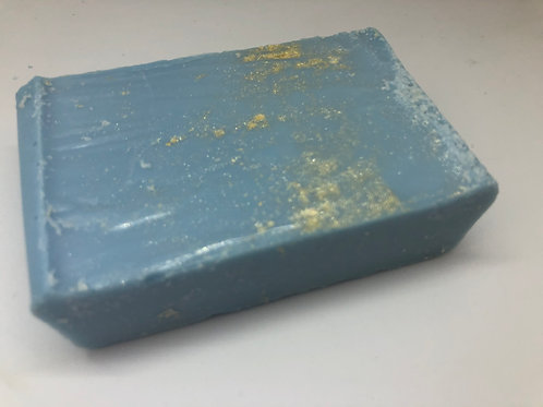 Turquoise with Gold Mica Soap