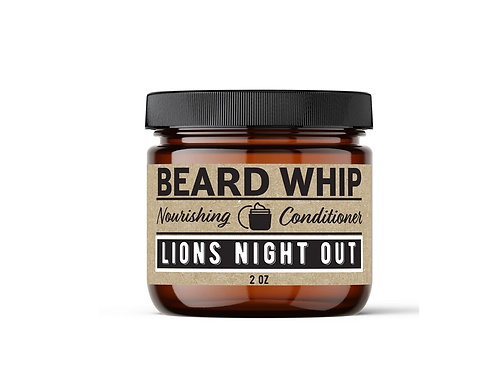 Lion's Night Out Beard Whip (Sporty Aquatic Cologne)