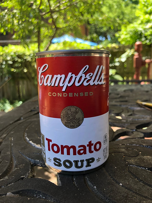 Upcycled Campbell's Soup Soy Candle-Tomato Soup