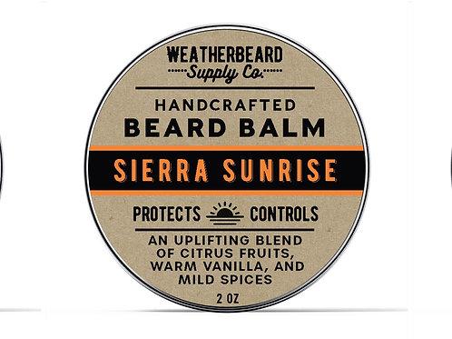 Sierra Sunrise Beard Balm (Citrus, Vanilla & Spice)