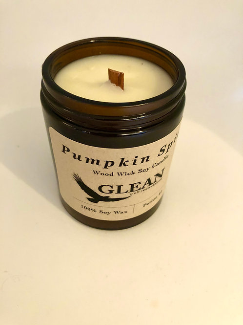 Pumpkin Spice Wood Wick Candle