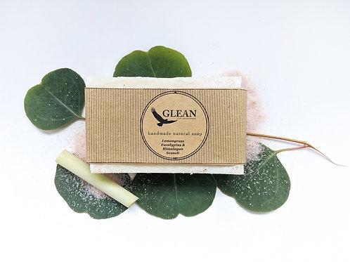 Lemongrass Eucalyptus with Pink Himalayan Salt Soap