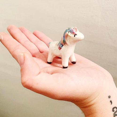 Hand-built Ceramic Unicorn
