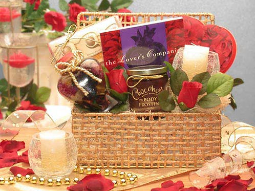 Romantic Evening Gift Basket 816032