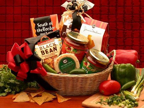 Lets Spice it up! Salsa Gift Basket 820115