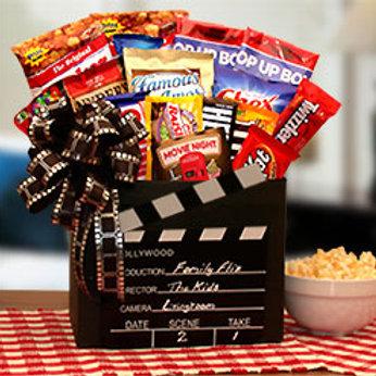 Family Flix Movie Night Gift Box 820652